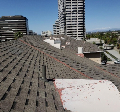 Dark Grey Roofing Shingles
