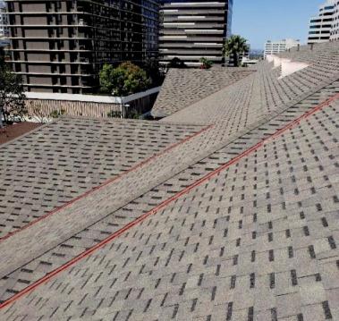 Grey Roofing Shingles